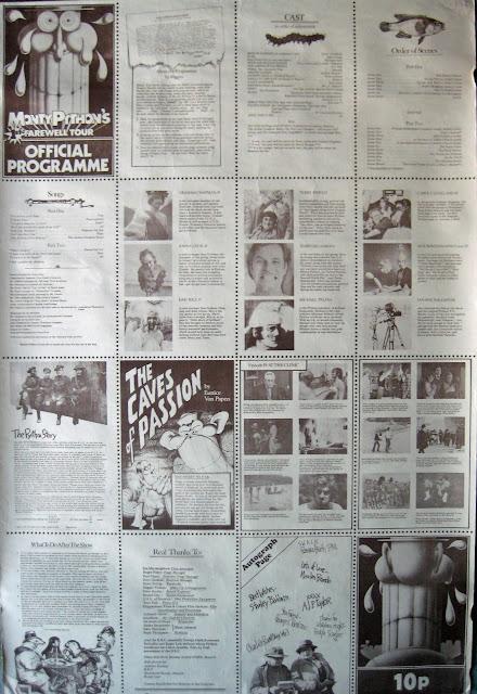 Monty Python's Farewell Tour Official Programme