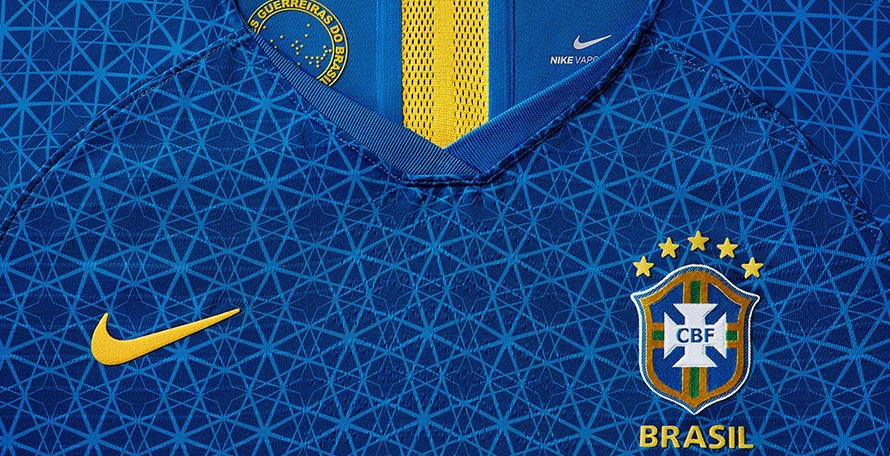 68bf654a4 Nike has launched a new away kit for the Brazil women s team ahead of the  World Cup this summer.