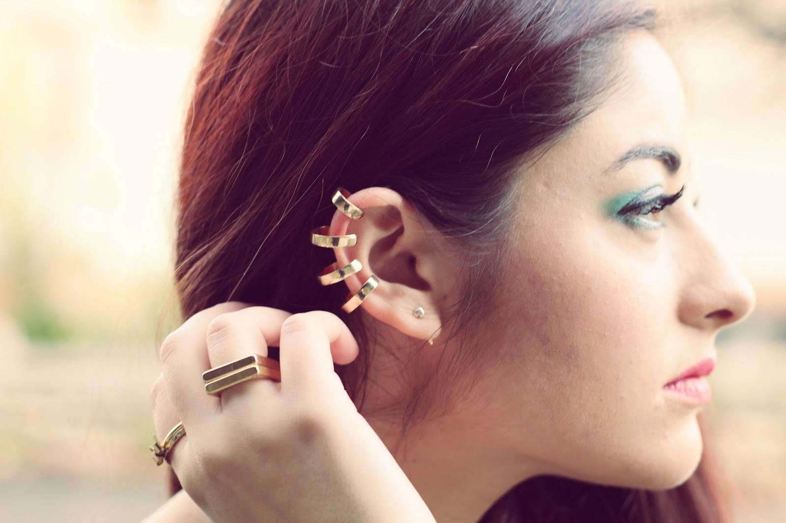 boucle d'oreille originale