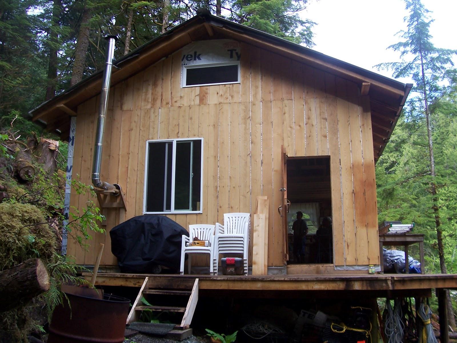 Black Hole Dora Bay Alaska Progress On Property