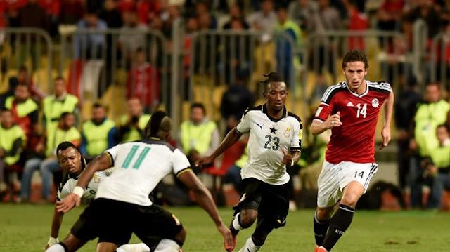 تعادل مصر مع غانا وصعود مصر لكأس العالم 2018