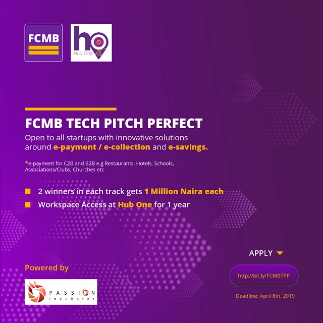 FCMB TECH PITCH PERFECT
