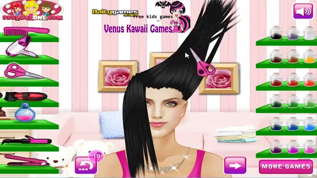 تحميل لعبة قص شعر البنات مجانا برابط مباشر Download hair cutting girls game