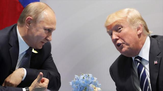 Rusia informa: Trump sugirió a Putin una reunión en Casa Blanca