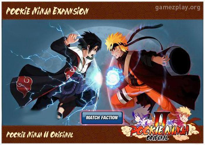 Pockie Ninja II Original - Chapter 2: Great Shinobi War Launched!
