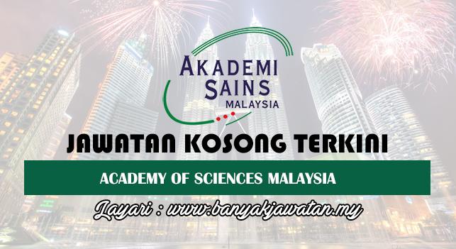 Jawatan Kosong Terkini 2017 di Akademi Sains Malaysia (ASM)