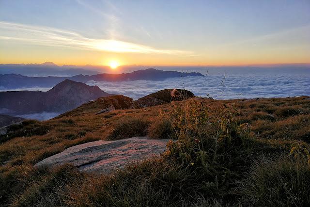 tramonto mondolè val ellero huawei p10 pro