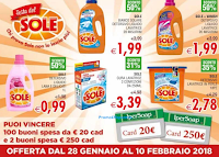 Logo IperSoap: Vinci la spesa col pulito di Sole! In palio buoni spesa da 20€ e 250€