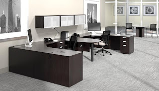 Offices To Go Open Concept Workstations - Superior Laminate Series
