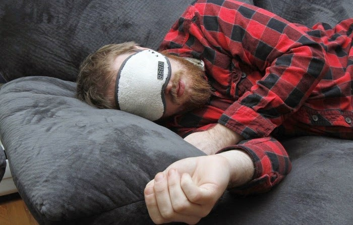Napping Mask on Episode 619, 1/16/2013