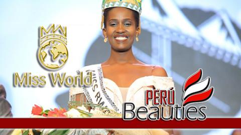 Meghan Nimwiza es Miss Rwanda 2019