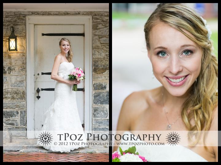 Bride Wedding Portraits Landis Valley Museum