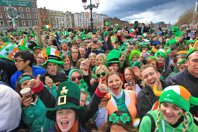 Why do americans celebrate St Patrick's day