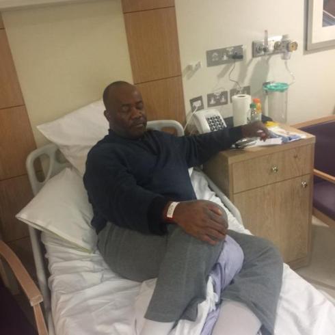Senator Godswill Akpabio  London medical trip!