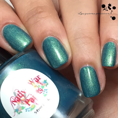 nail polish swatch of my favorite sweater by native war paints