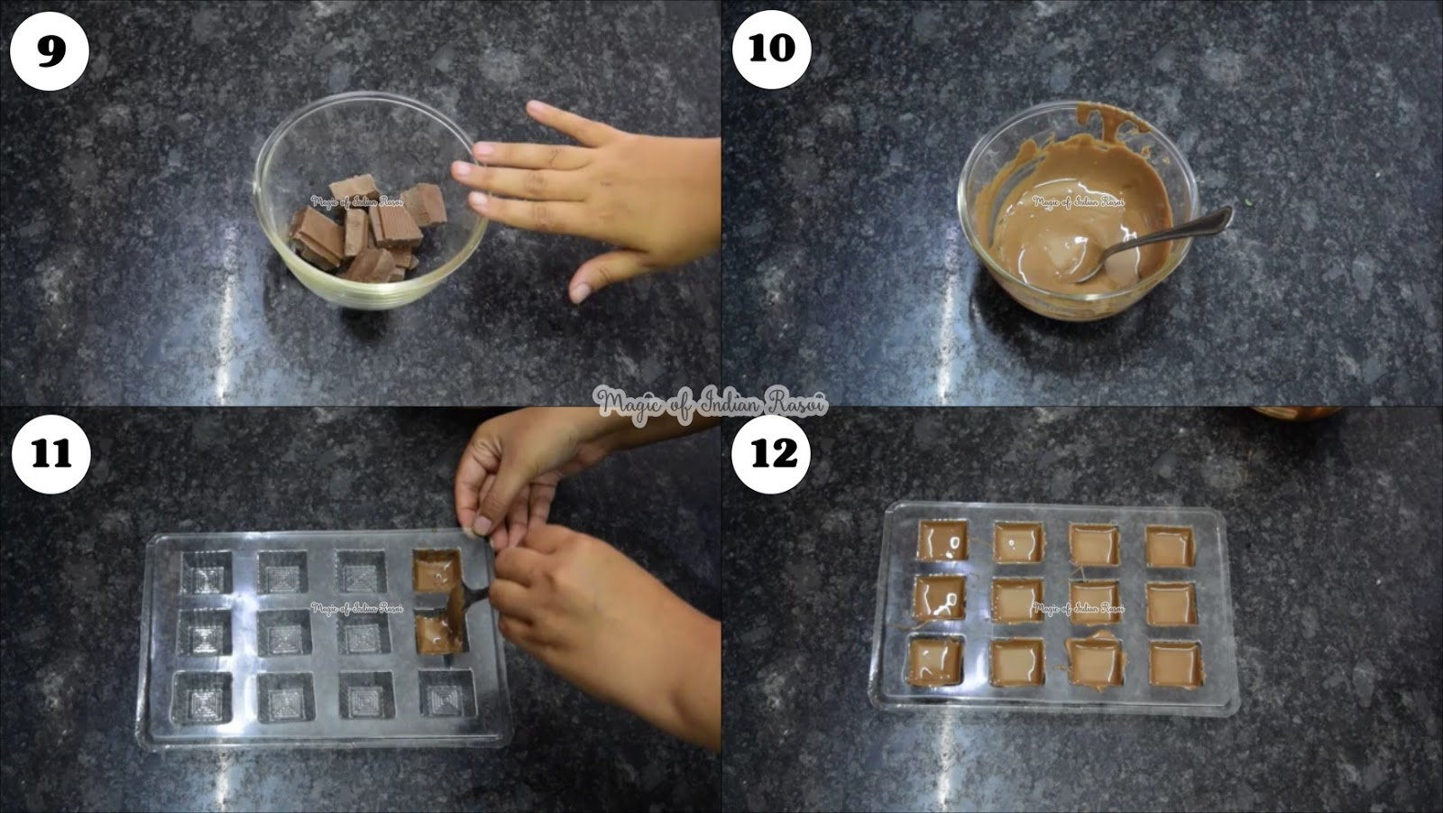 Meetha Paan Filled Chocolates Recipe - मीठा पान भरे चॉकलेट रेसिपी - Priya R - Magic of Indian Rasoi