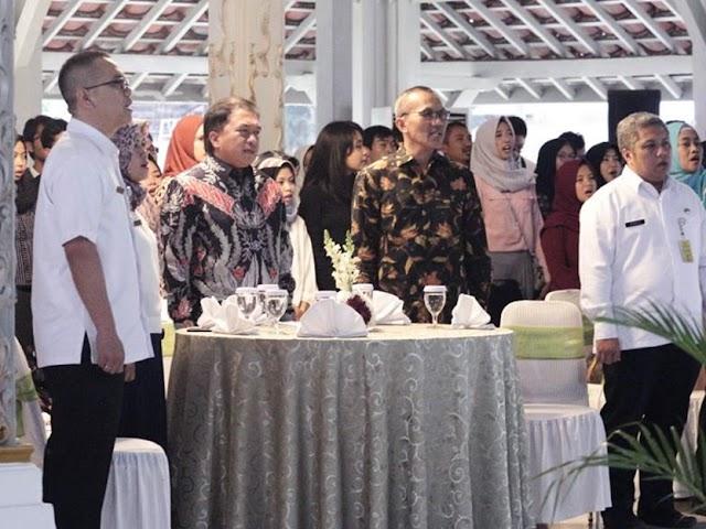 Silaturahmi Mahasiswa Baru Unpad Digelar di Pendopo