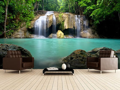 3D nature wallpaper murals for home walls
