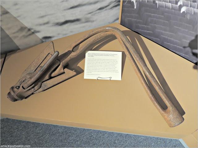 Arpón Noruego en el Museo de las Ballenas de New Bedford