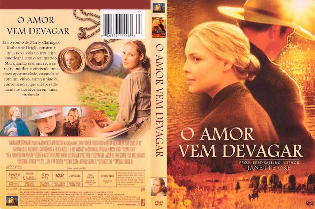 Capa DVD O Amor Vem Devagar