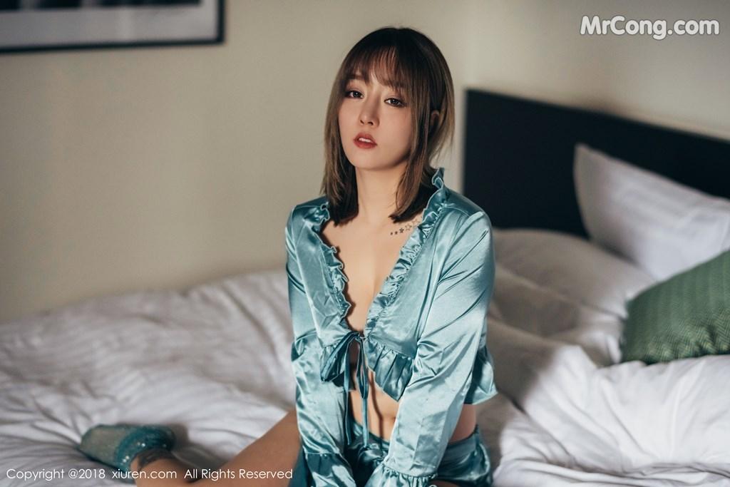 Image XIUREN-No.1139-Wang-Yu-Chun-MrCong.com-001 in post XIUREN No.1139: Người mẫu Wang Yu Chun (王雨纯) (49 ảnh)