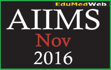 aiims-november-2016