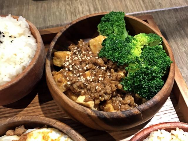 米堂照燒豆腐飯