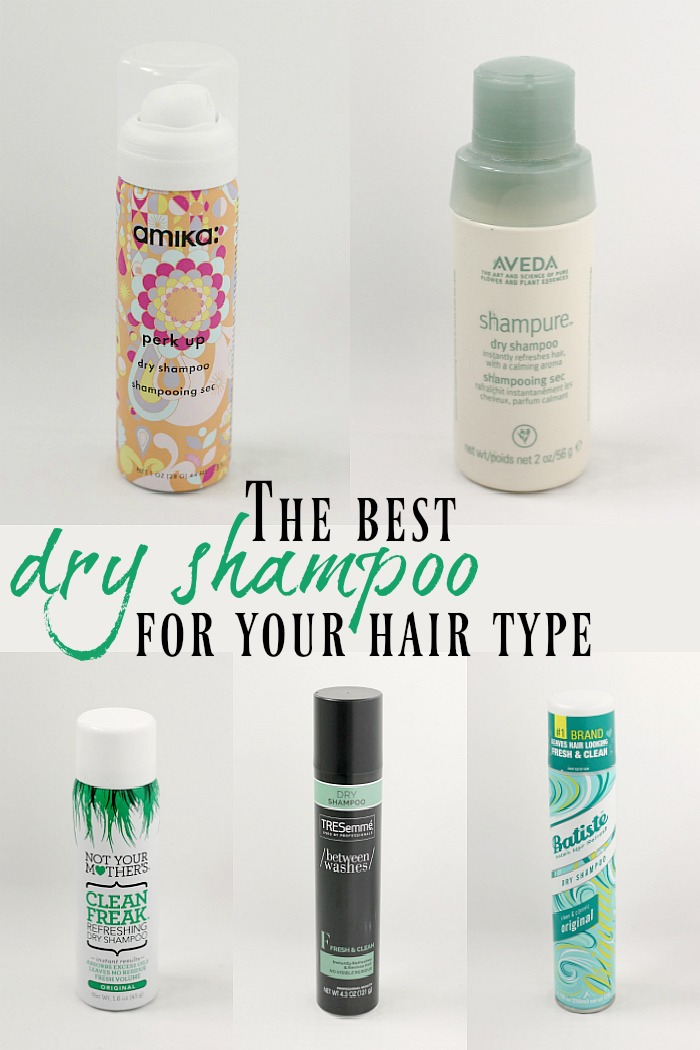 A review of popular dry shampoo brands for different hair types