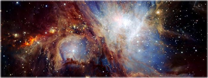 visão mais profunda da nebulosa de orion