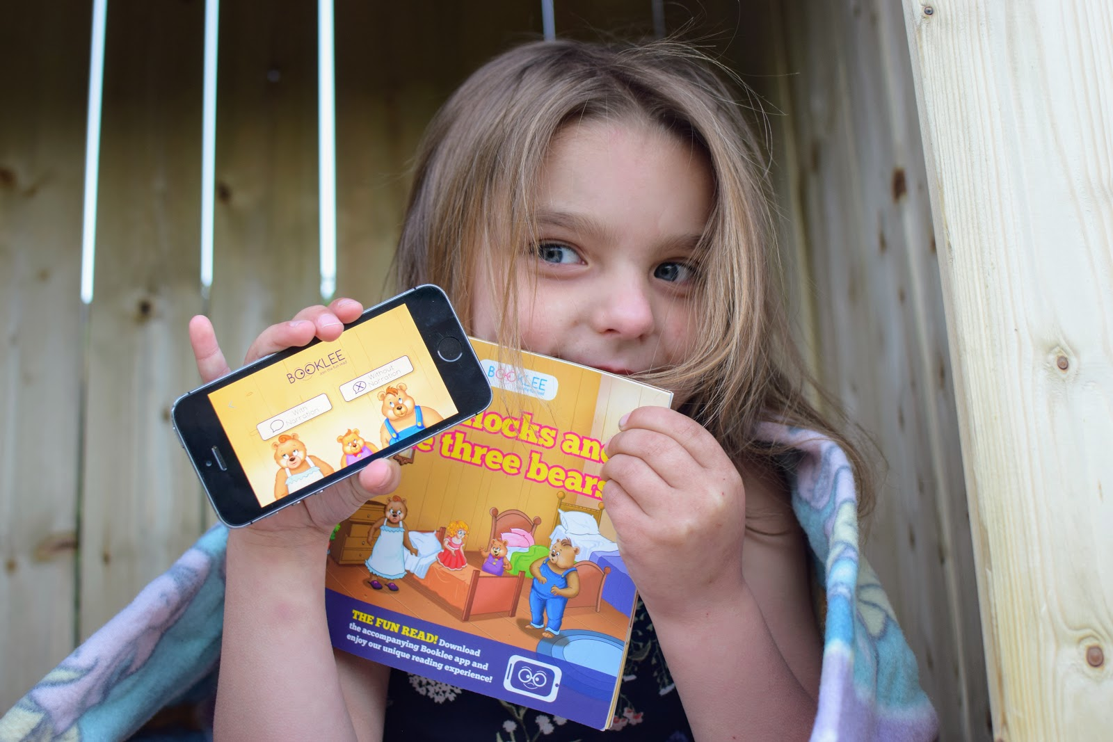 , Booklee The Fun Interactive Reading App Review (& the chance to win a Goldilocks Book)