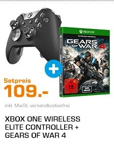 Xbox One Elite Controller und Gears of War 4