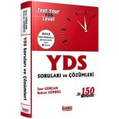 İrem Yayıncılık YDS Fasikül Çıkmış Sorular ve Çözümleri 2013