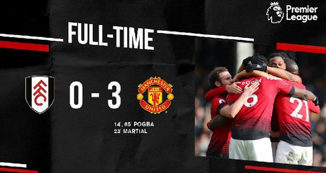 Fulham vs Manchester United 0-3 Video Gol & Highlights