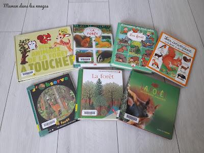 http://mamandanslesnuages.blogspot.fr/2017/12/dans-la-foret-selection-de-livres-documentaires.html