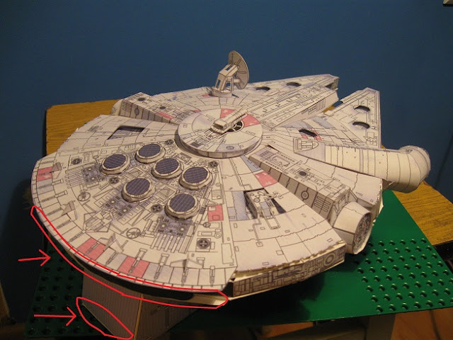Millenium Falcon, papercraft, star wars, millenium falcon papercraft, star wars, sokol millenium model kartonowy, kartonowy model, papierowy model sokoła millenium, paper model, jak zrobić model kartonowy, papercraft, star wars papercraft, modele z gwiezdnych wojen, image of millenium falcon, photos of millenium falcon, papercraft download, image, photo, model papierowy