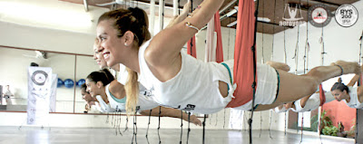 CURSOS FORMACION PROFESORES AEROYOGA ® AEROPILATES ® INTERNATIONAL CANCUN MEXICO