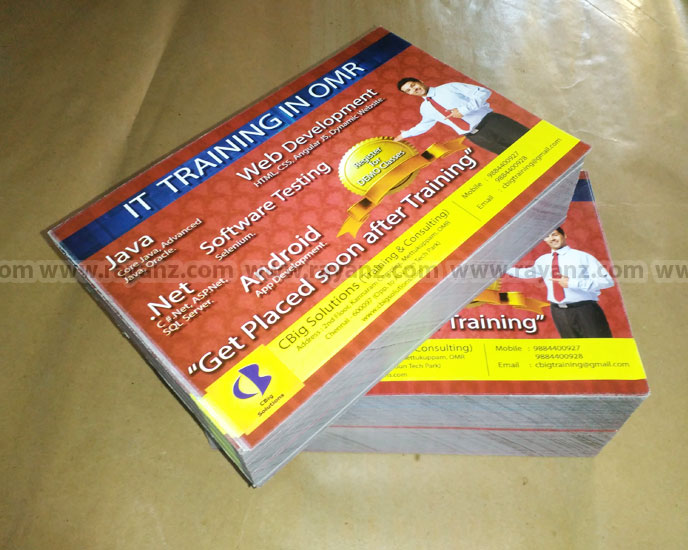 A5 Flyers multicolor printing services in Chennai at cheap prices
