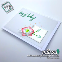 Stampin' Up! Climbing Orchid SU Card Idea order craft items from Mitosu Crafts UK Online Shop