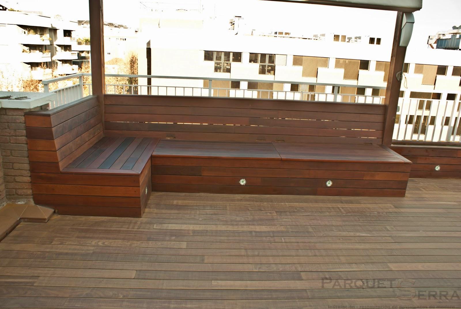 tratamiento suelo de madera exterior de ipe