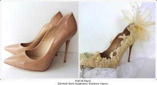 Ayakkabı Süsleme - Moda Tasarım