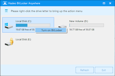 Hasleo BitLocker Anywhere Home for Windows with License Key