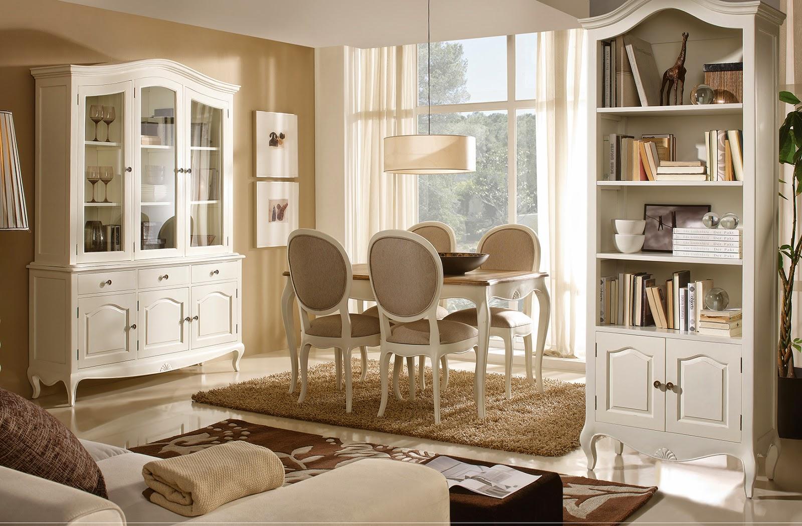Muebles de comedor 5 comedores de estilo provenzal - Muebles estilo provenzal ...