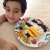 Idéias originais de pratos decorados com comida para as crianças