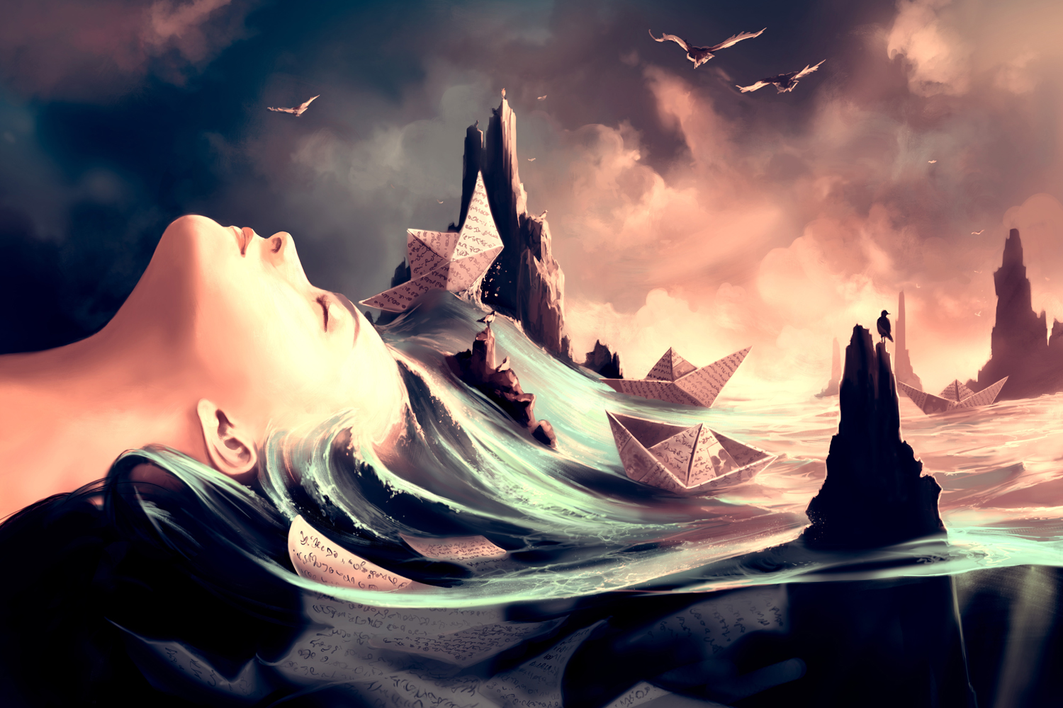 ©Cyril Rolando - Paint Me My Dreams