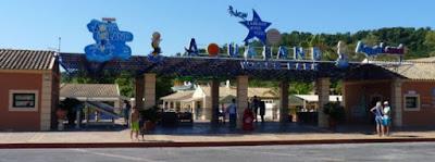 Aqualand de Corfú.