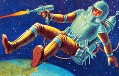 ماذا يحدث اذا اطلقت رصاصة في الفضاء