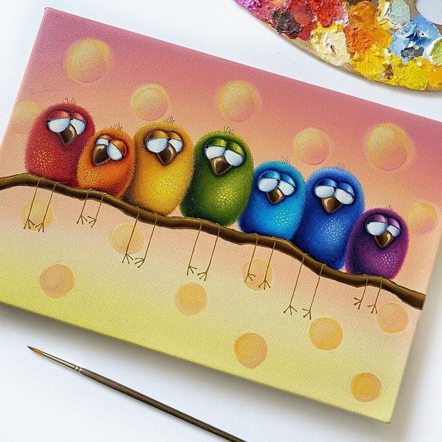 03-Rainbow-Birds-Gabriela-Elgaafary-www-designstack-co