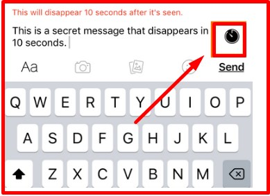secret messages on facebook computer