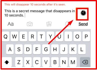 secret messages on facebook computer