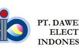 Lowongan Terbaru SMK Operator Maintenance Quality Control PT. Dawee Electronic Indonesia Jababeka Cikarang